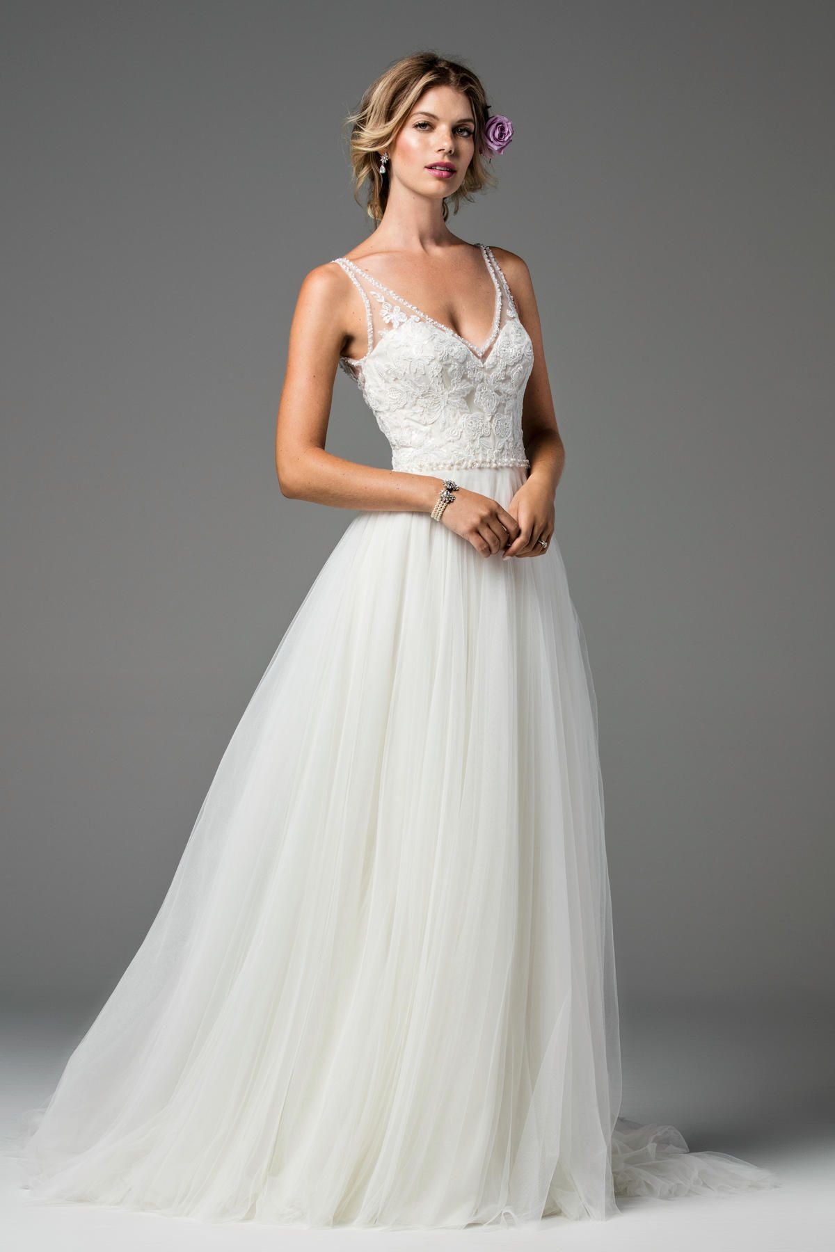 Designer Wtoo Style Locklin Available At Bliss Bridal In Wisconsin Www Blissbridalonline Com Wtoo Wedding Dress A Line Wedding Dress Watters Wedding Dress
