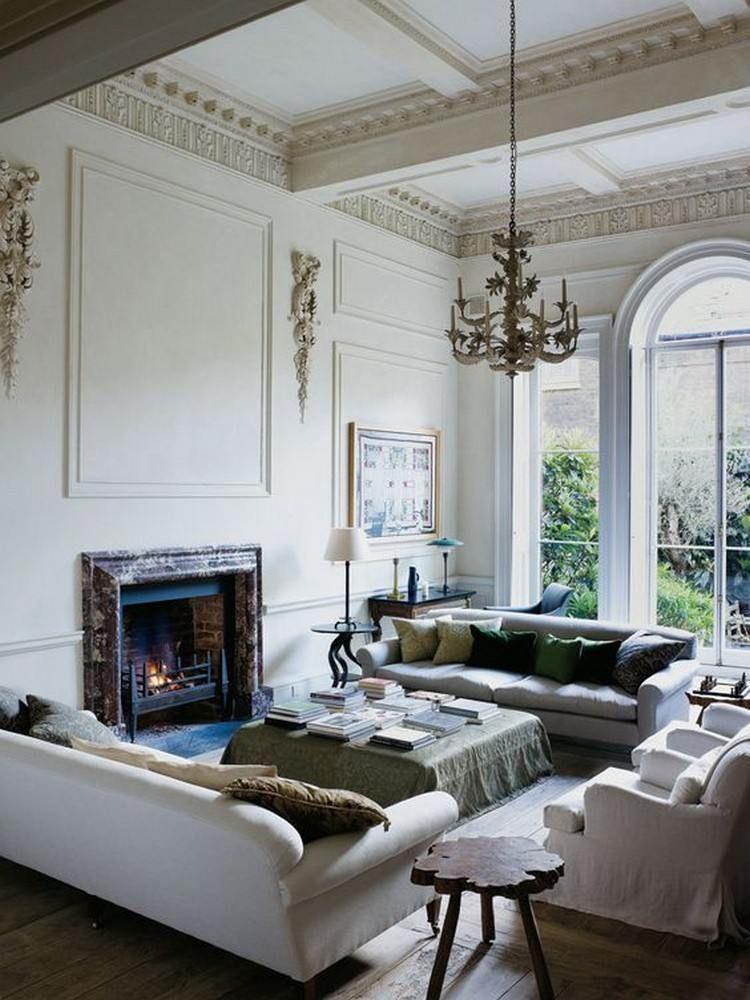 Afin de trouver comment recréer une décoration style anglais dans votre pièce deavita vous propose dexaminer toutes nos photos éclectiques variées