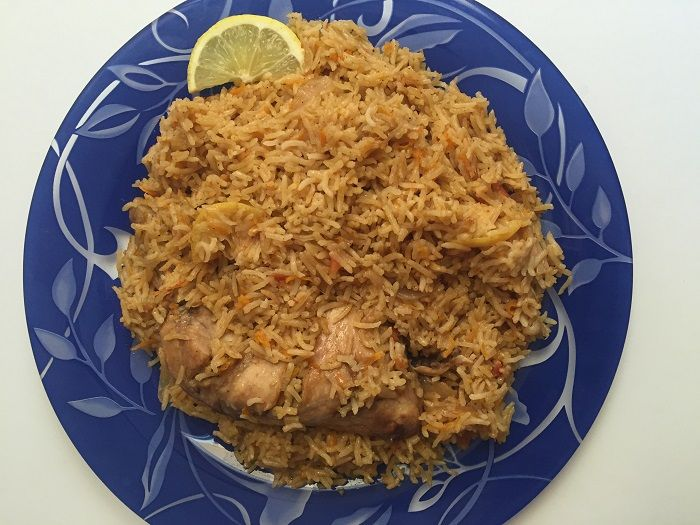 Saudi Arabian Kabsa Chicken And Rice Resep