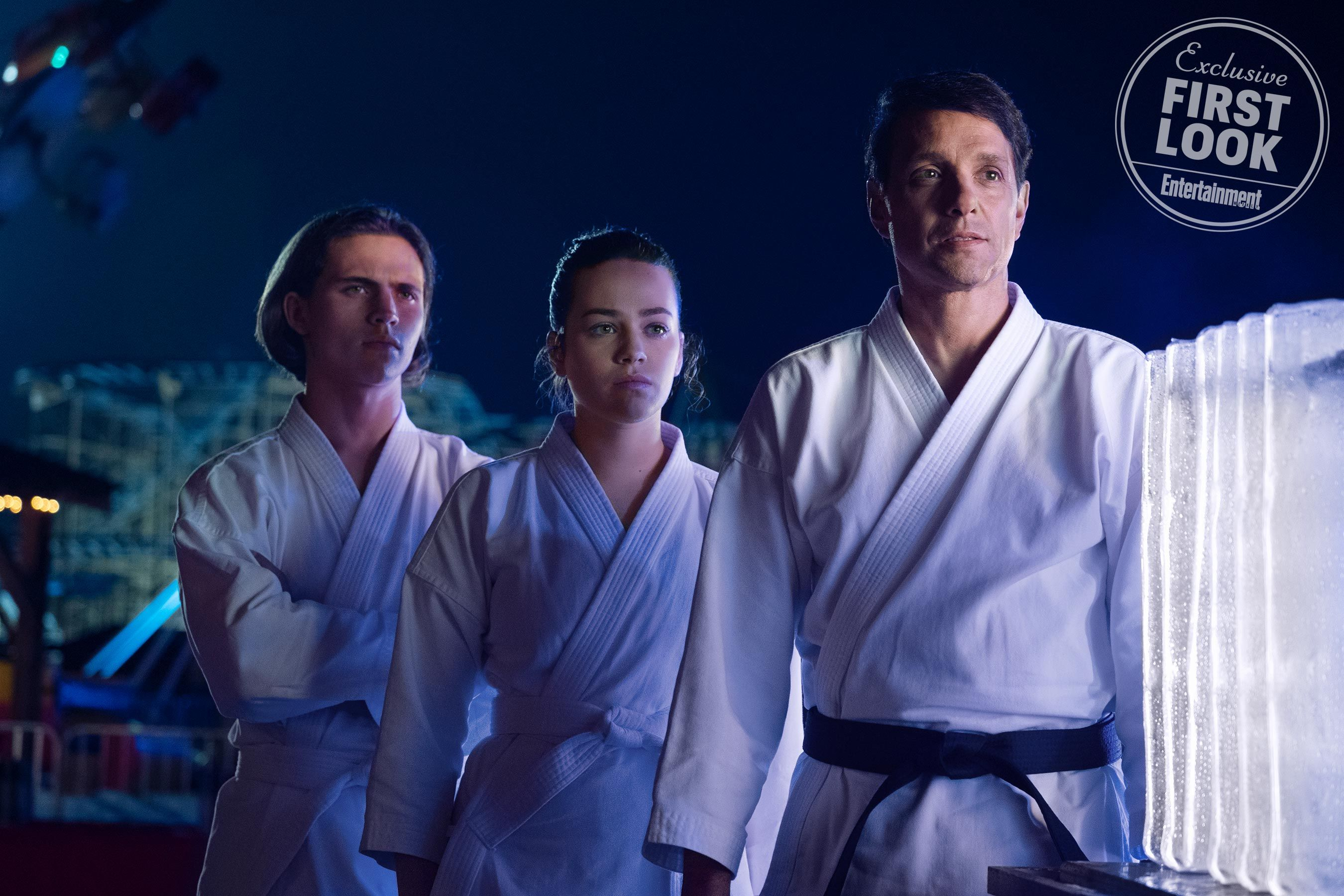 Cobra Kai Season 2 First Look New Rivalries And An Enormous Role For Sensei Kreese Karate Kid Cobra Kai Karate Kid Kid Cobra