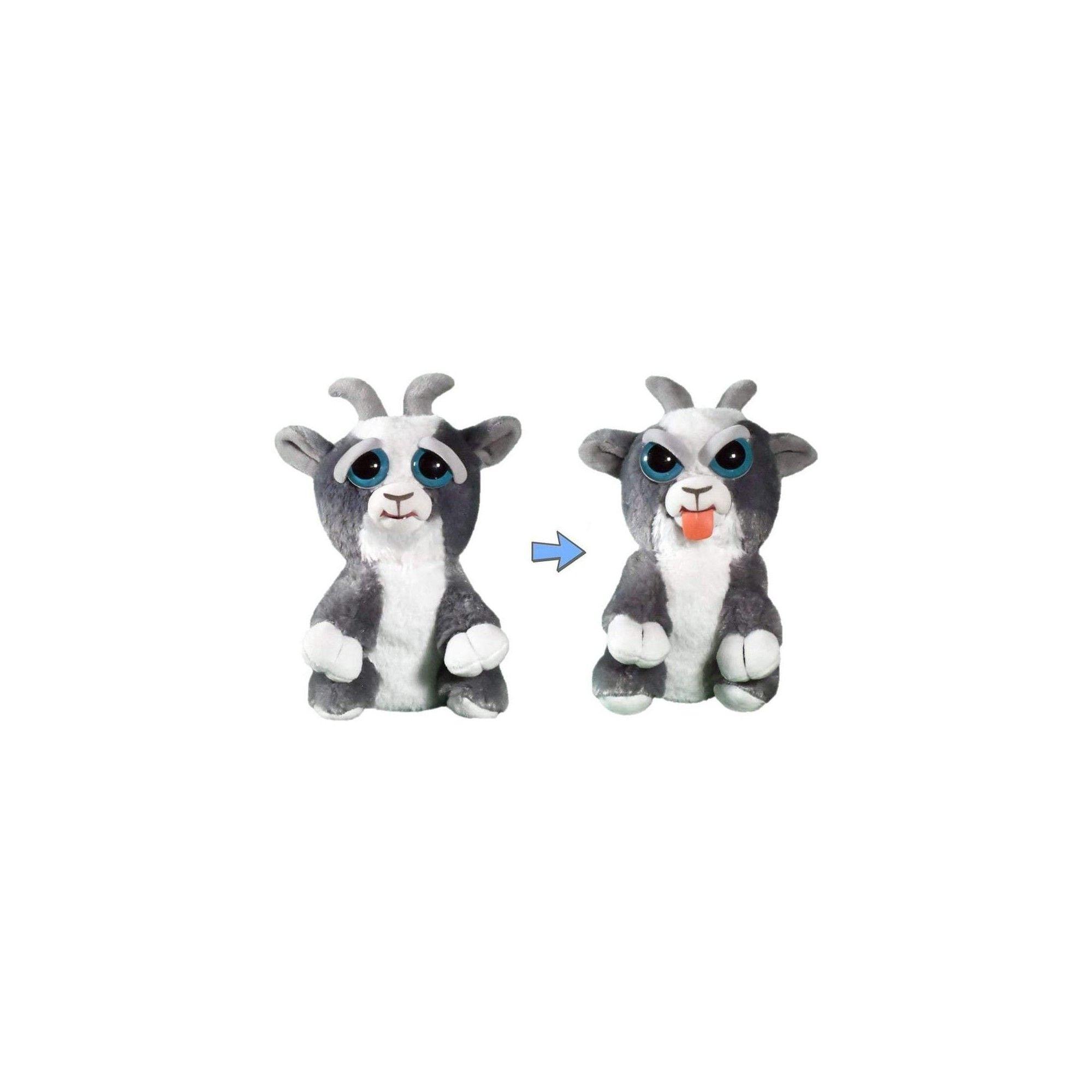 William Mark Corp Feisty Pets Plush Junkyard Jeff Goat Tongue Out