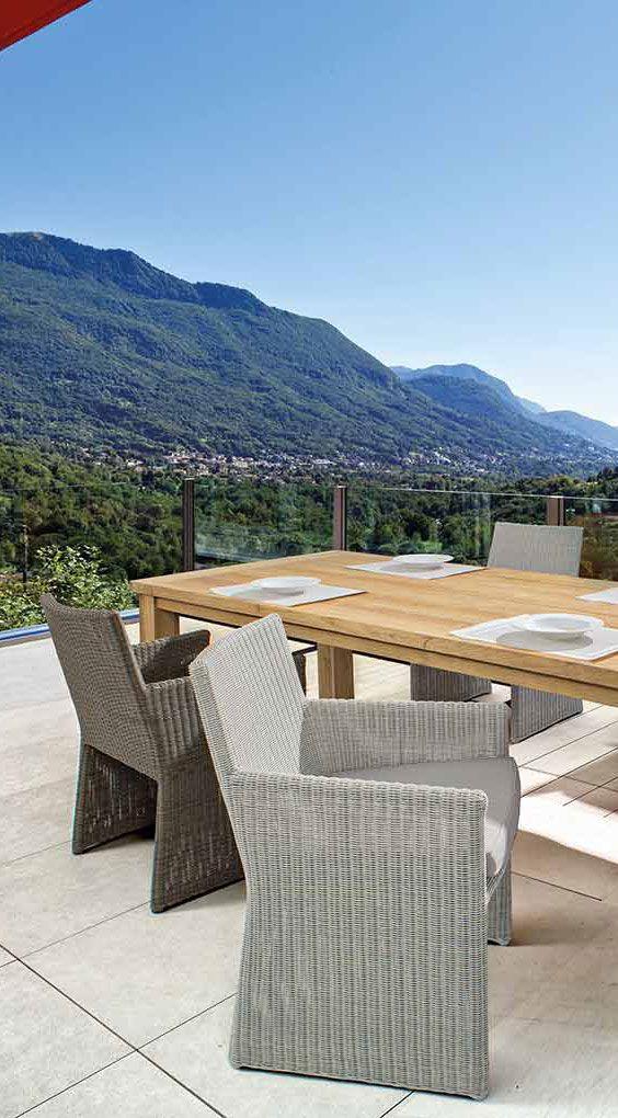 Diningsessel Sedia von Bizzotto - Moderne Geflechtsessel für den ...