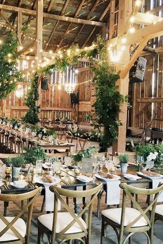45 Romantic Barn Wedding Decorations #barnweddings