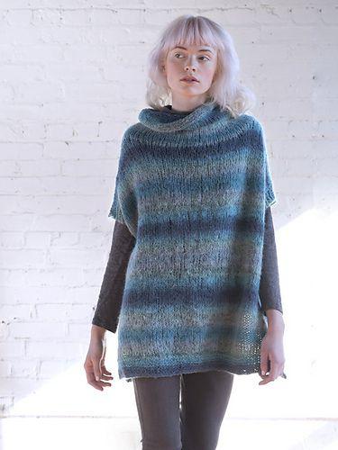 Mera pattern by Berroco Design Team | Poncho knitting ...