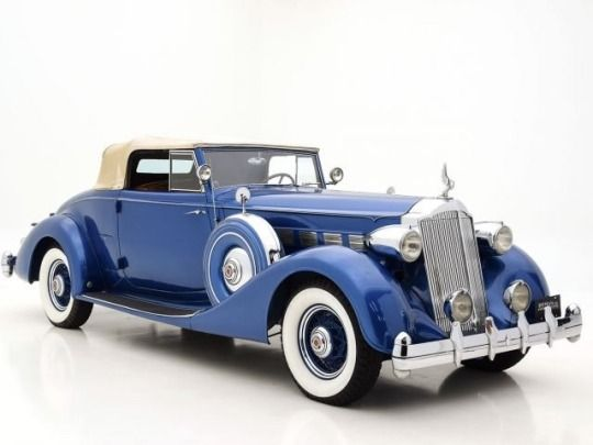 A Very Beautiful 1936 Packard Super Eight Coupe Roadster Last Of The 385 Cu In Straight Eight Engines Yours Fo Classic Cars Classic Cars Vintage Vintage Cars
