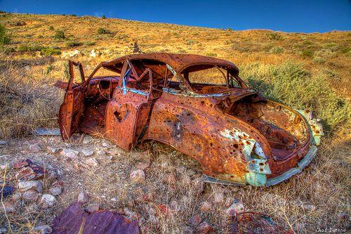 Rusty Car at Delamar | 0811-1-7837