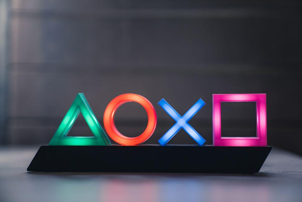 Playstation Icon Led Lampe Playstation Icon Led Lampe