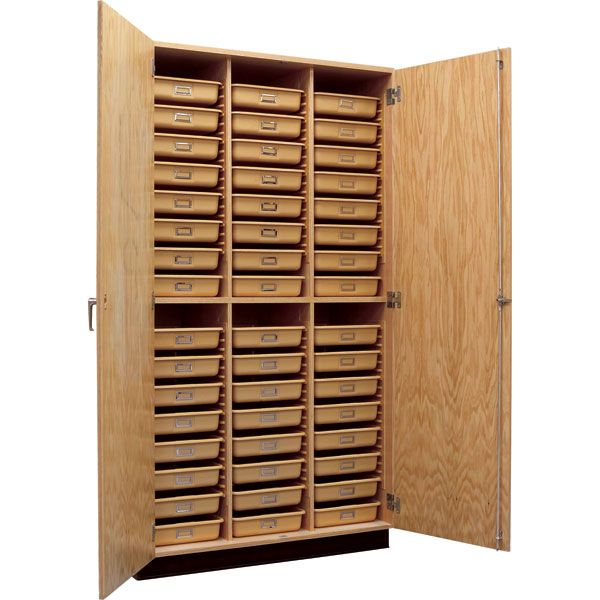 Tall Storage Cabinet With Tote Trays Doors 48 W X 22 D Tall Cabinet Storage Locking Storage Cabinet Glass Cabinet Doors