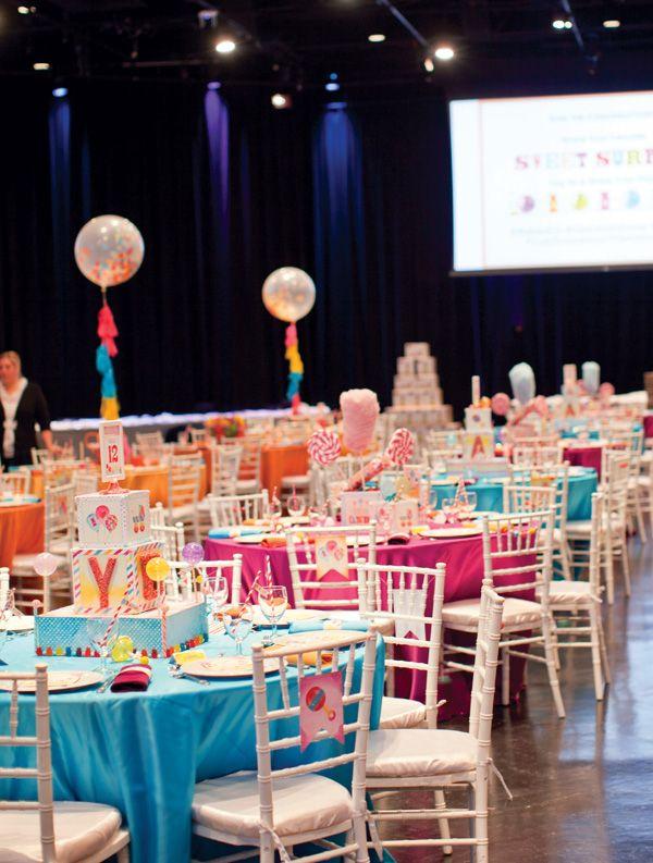 U201cSweet Surprisesu201d Candy Baby Shower {Recap Part 1 U2013 General Event Overview}