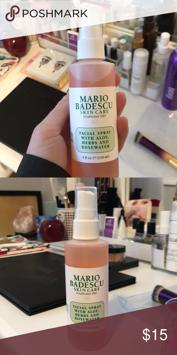 Barely Used Mario Badescu Facial Spray Perfect Condition