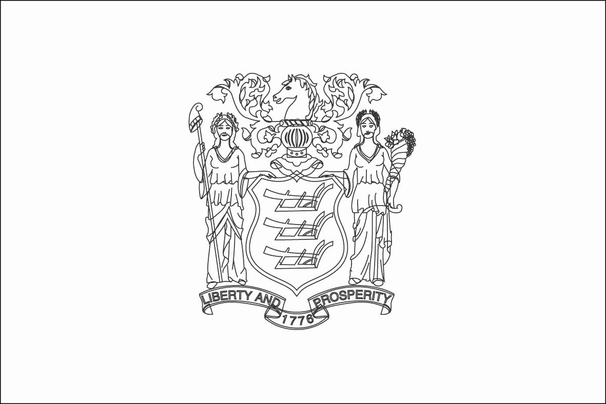 Massachusetts State Flag Coloring Page Unique Flags The World