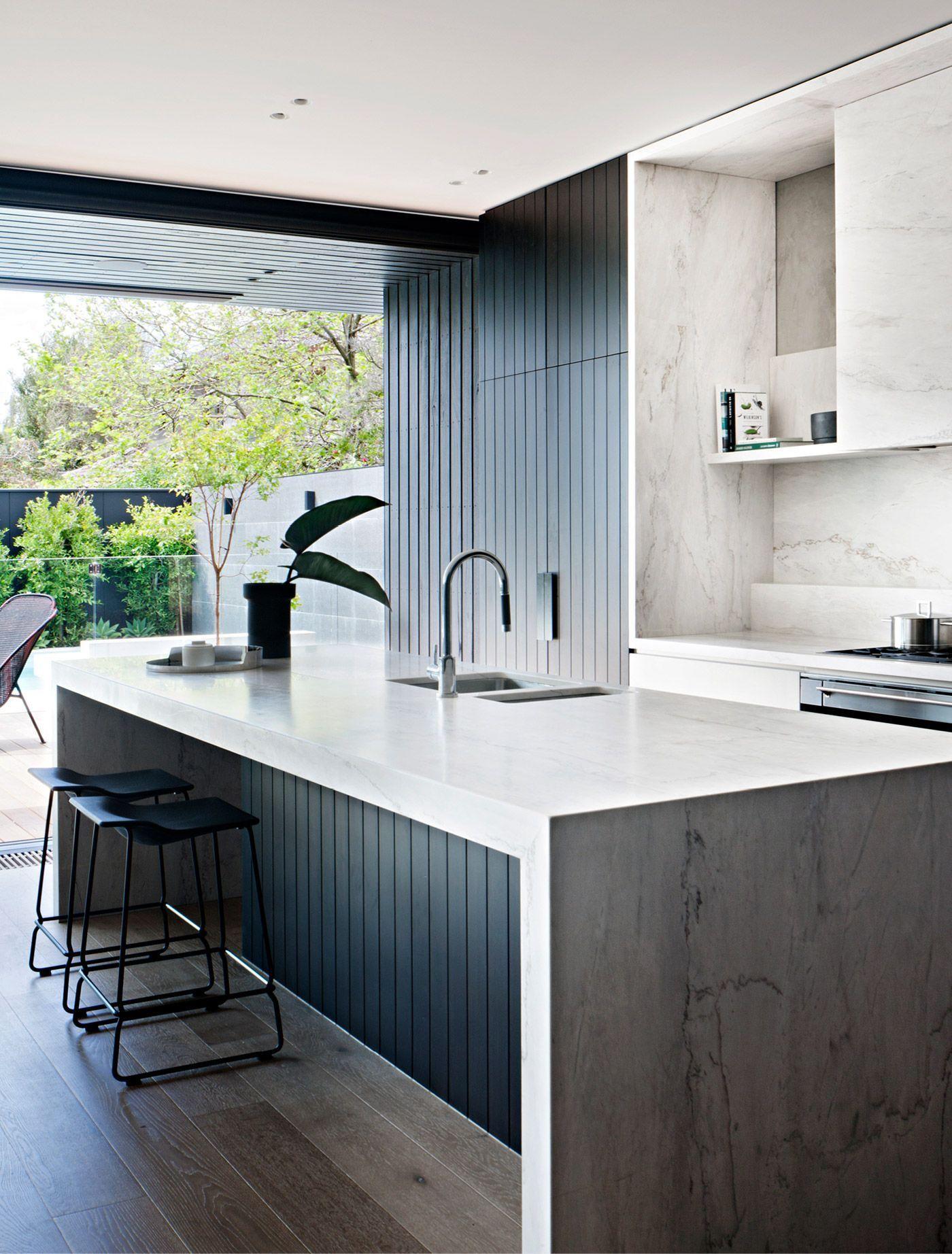 10 Kitchens With Black Appliances In Trending Design Ideas For Your Kitchen Modern Kitchen Design Kitchen Design Contemporary Kitchen
