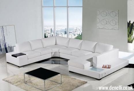 Spectrum Modern Modular Sofa The Spectrum Modular Sofa Is A Stunning Sofa Which P White Leather Sofas White Sofa Design Contemporary Sectional Sofa