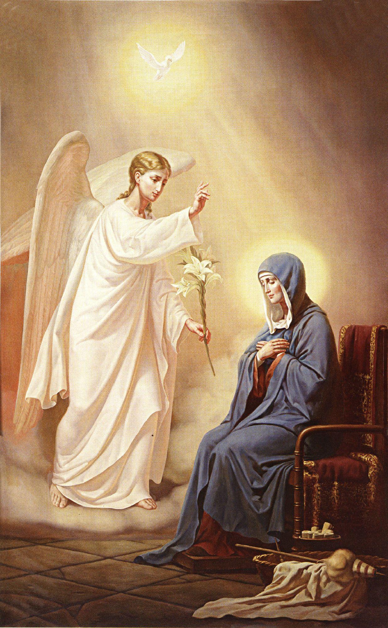 Annunciation / Благовіщення Пресвятої Богородиці | Figuras ...