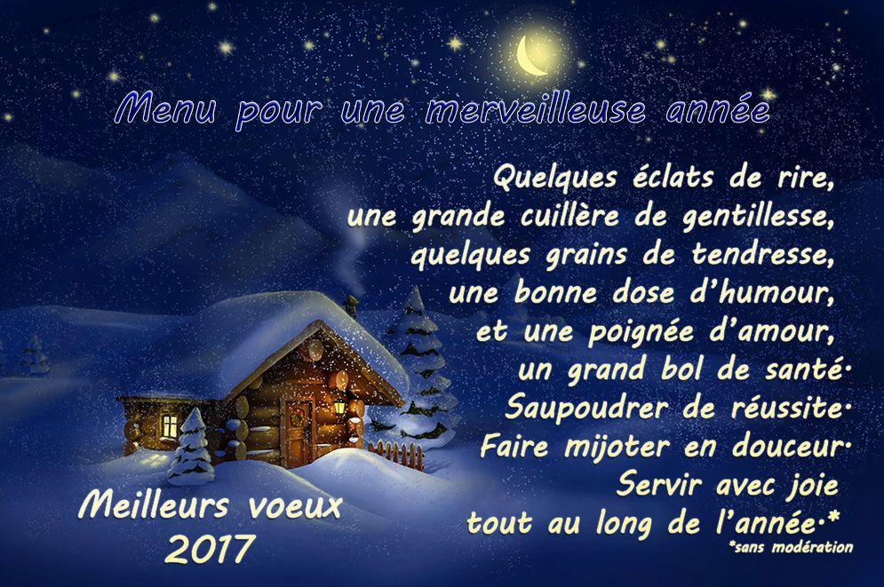 Souvent Menu reveillon | voeux 2017 | Pinterest | Menu reveillon, Jolie  PL36