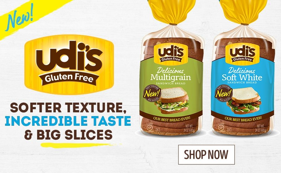 Gluten Free Breads, Baked Goods & More Udis gluten free