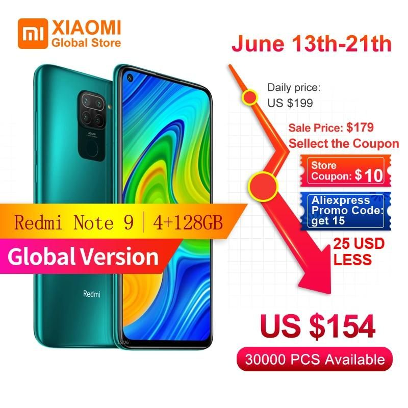 Global Version Xiaomi Redmi Note 9 Smartphone 4gb Ram 128gb Rom Mtk Helio G85 Octa Core 18w Fast Charging 5020 Mah 6 53 In 2020 Xiaomi Note 9 Brand Names