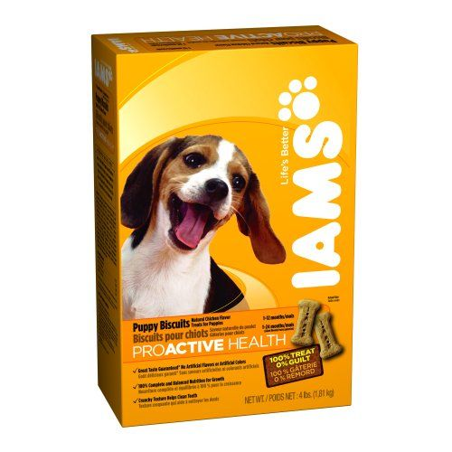 IAMS PROACTIVE HEALTH Puppy Biscuits Natural Chicken