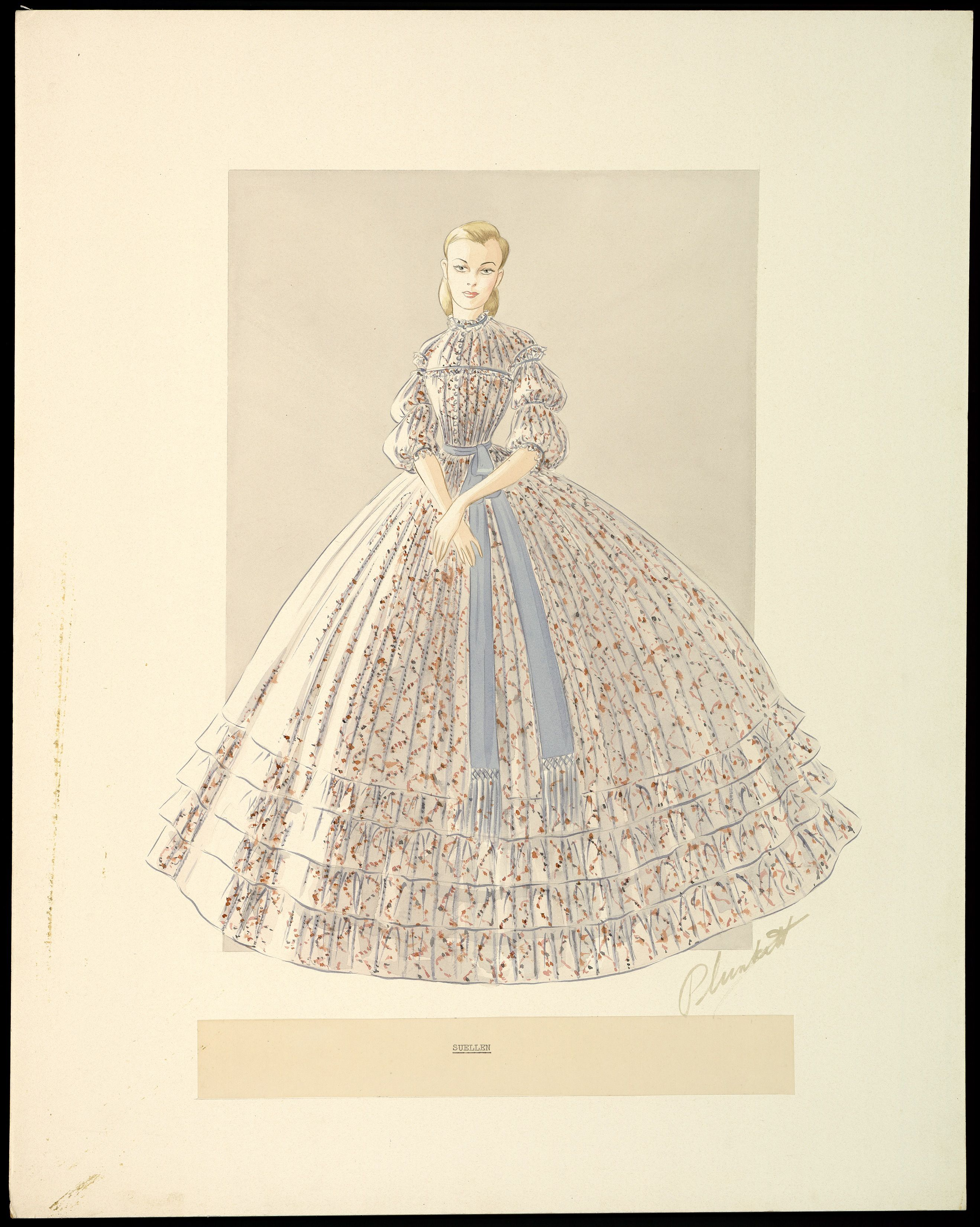 e6efd5b38afb Unused Gone With The Wind   Dress the Part 19/20th C. (18 ...