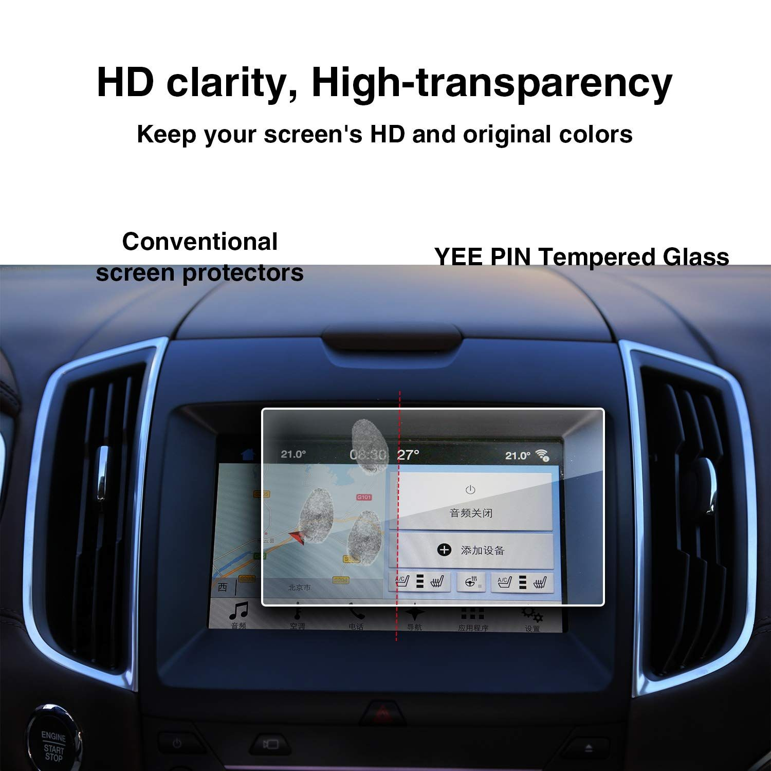 Yee Pin 20152019 Compatible With Ford Edge Sync 2 Sync 3 App Link
