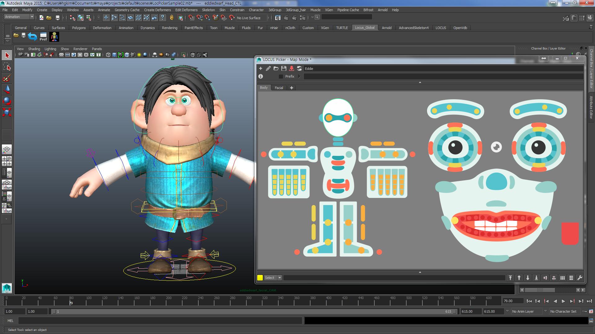 LOCUS Picker Maya Autodesk App Store Maya, Animation