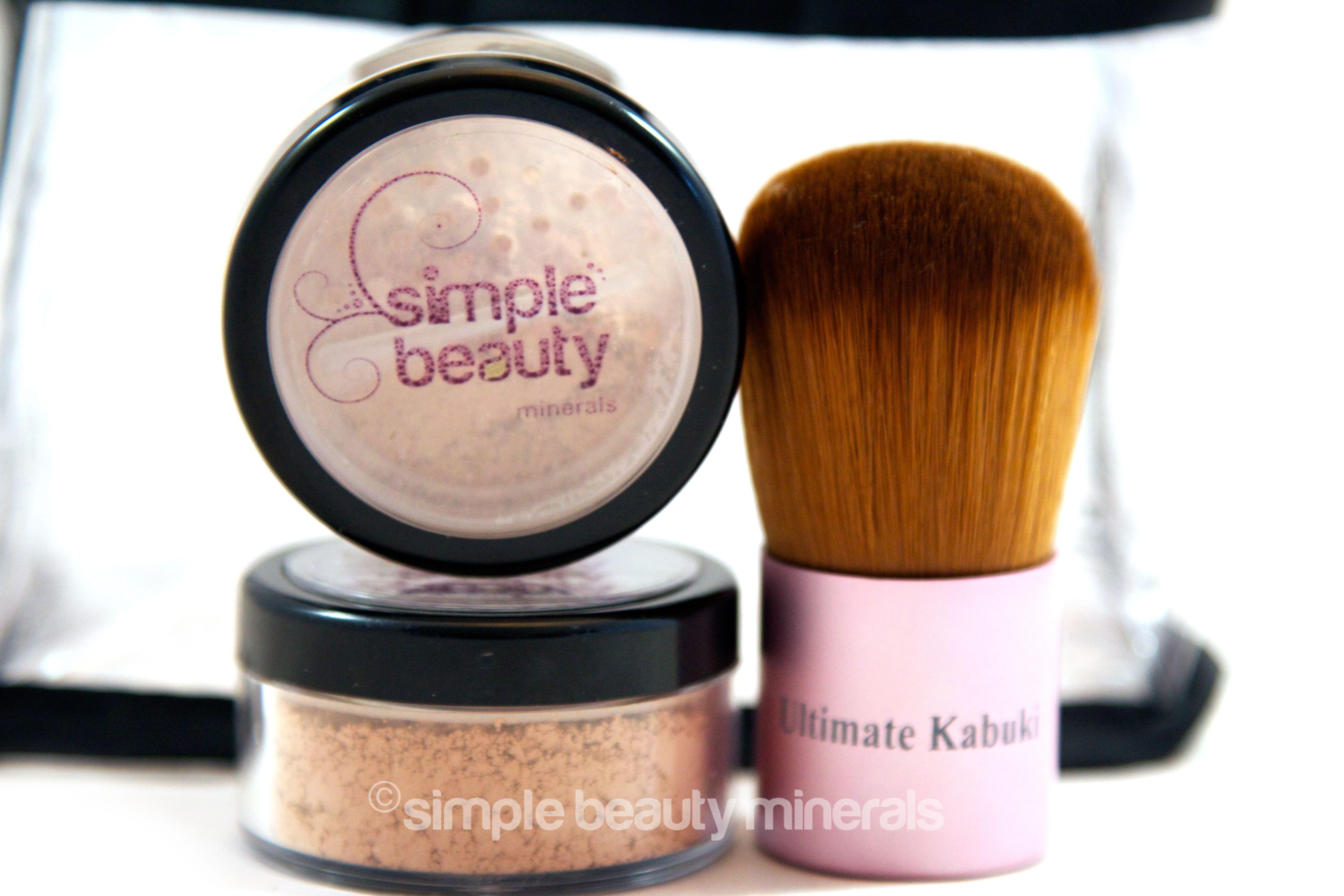 Basic Customizable Mineral Makeup Starter Kit Minerals