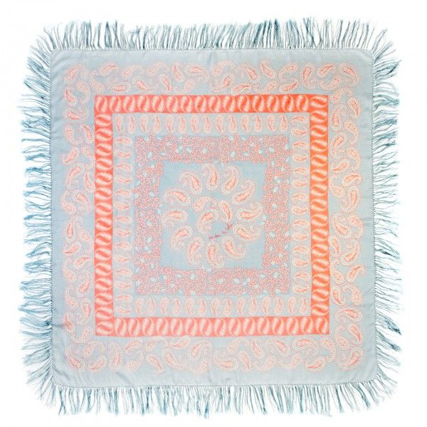 Pañuelo de Bimba & Lola SS14 Scarf SS14 Bimba & Lola blue and orange