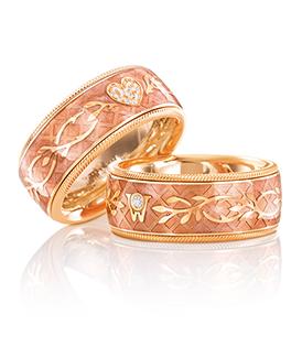 sortie en ligne artisanat de qualité complet dans les spécifications Wellendorff Diamond Heart Rosé Ring available at Cellini ...