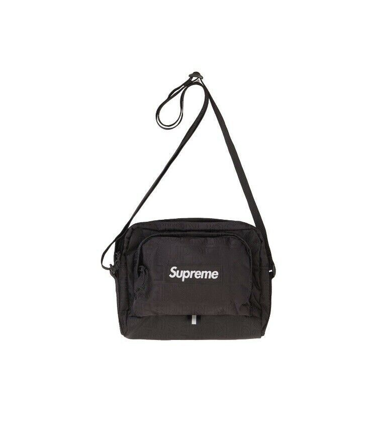0f82fa6078 Supreme Shoulder Bag (SS19) Black ORDER CONFIRMED Fast Ship Authentic   fashion  clothing