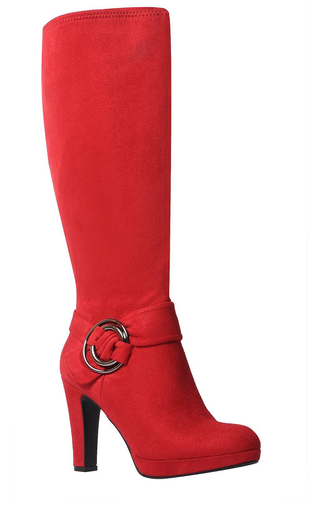 642bdd1135f7 Impo OWEN Stretch Dress Platform High Heel Boot