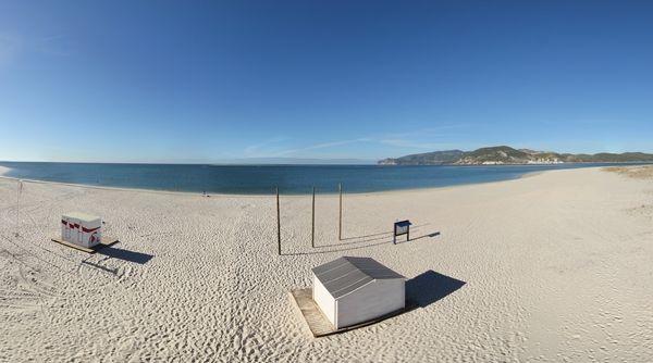 360º Virtual Visit to Praia de Tróia Mar, Portugal - via www.visitasvirtuais.com