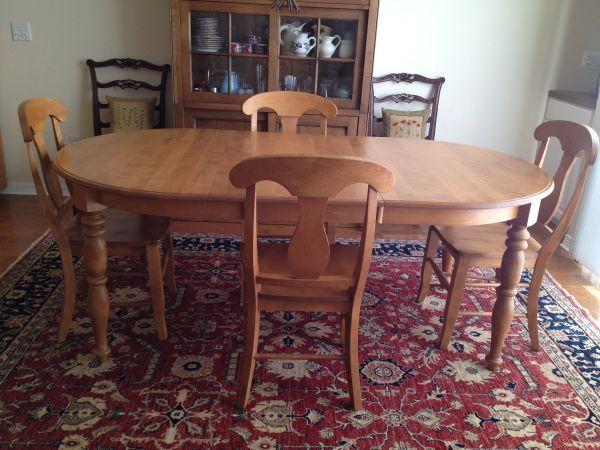 Craigslist dining room sets