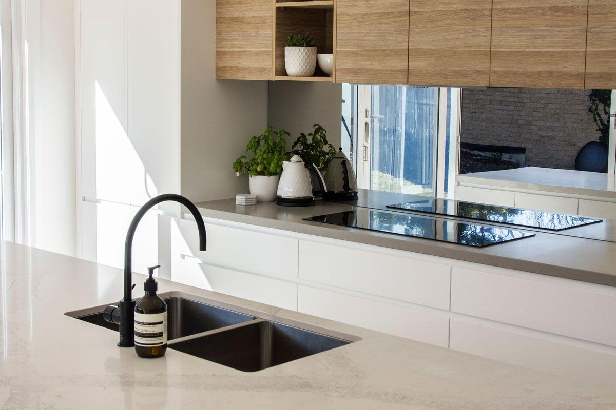 8 Amazing Kitchens featuring Caesarstone Concrete Designs ...