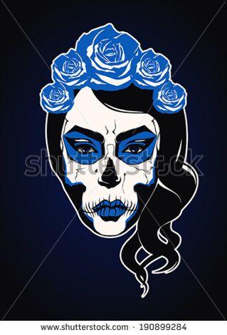 catrina skull - Buscar con Google