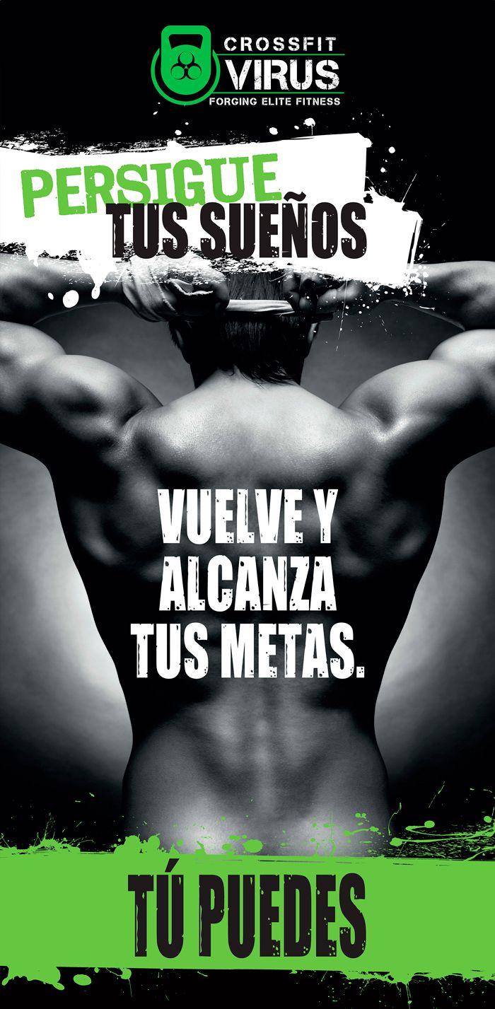 Posters para gimnasio Crossfit. Eugenia Parra. http://www.e… | My ...
