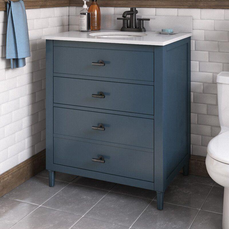 Highland Dunes Lasher 30 Single Bathroom Vanity Set Reviews Wayfair In 2020 Single Bathroom Vanity Bathroom Vanity Vanity Set
