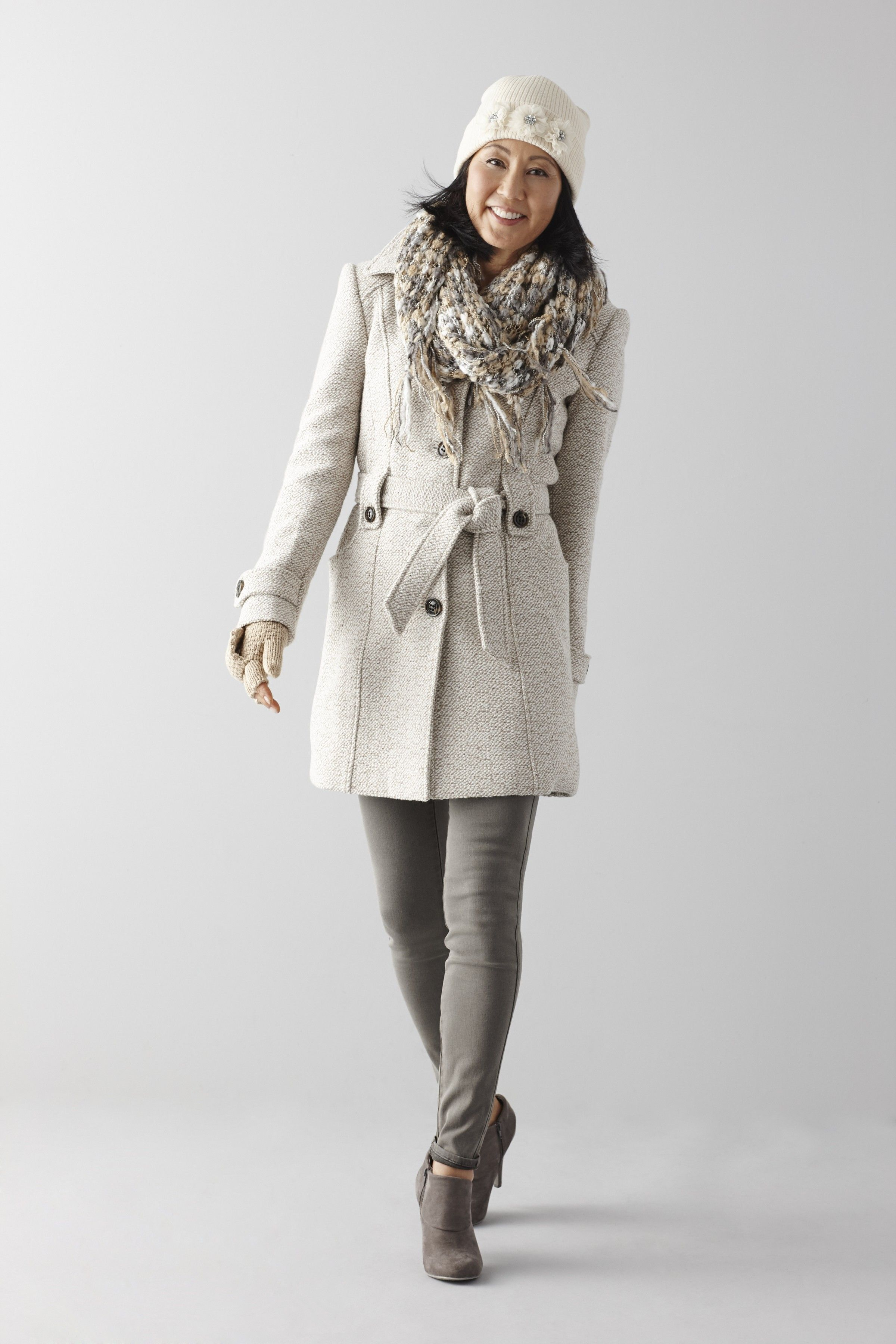 1924b388c0d Add a feminine layer of warmth to your winter looks with our belted ...