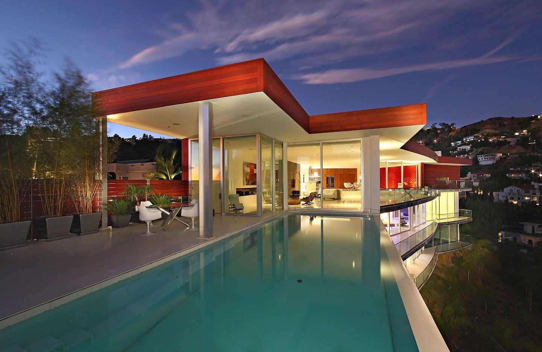 Modern Architectural Masterpiece in Hollywood Hills | Einrichtung ...