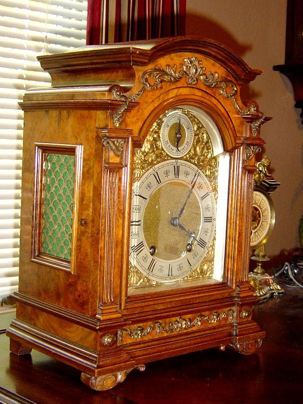 Lenzkirch Bracket Clock Antique Clocks Mantle Clock Clock