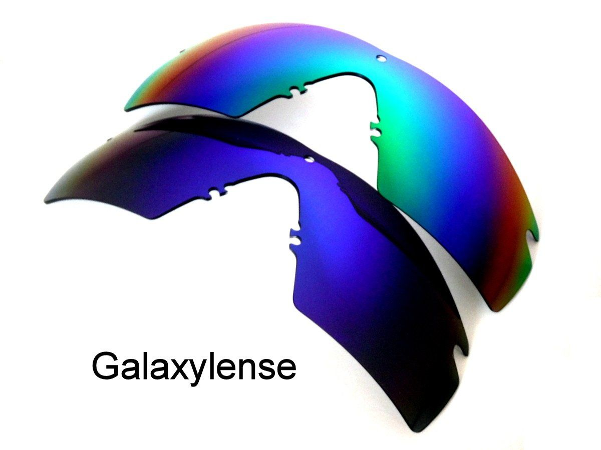434725738e235 Galaxy Replacement Lenses For Oakley Si Ballistic M Frame 2.0 Z87  Blue Green 2 Pairs     More info could be found at the image url.