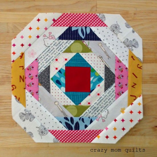 crazy mom quilts: how to make a pineapple block (without paper ... : pineapple quilt tutorial - Adamdwight.com
