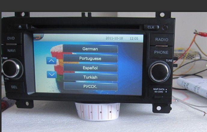 Multi Language Available Radio Car Radio Head Unit