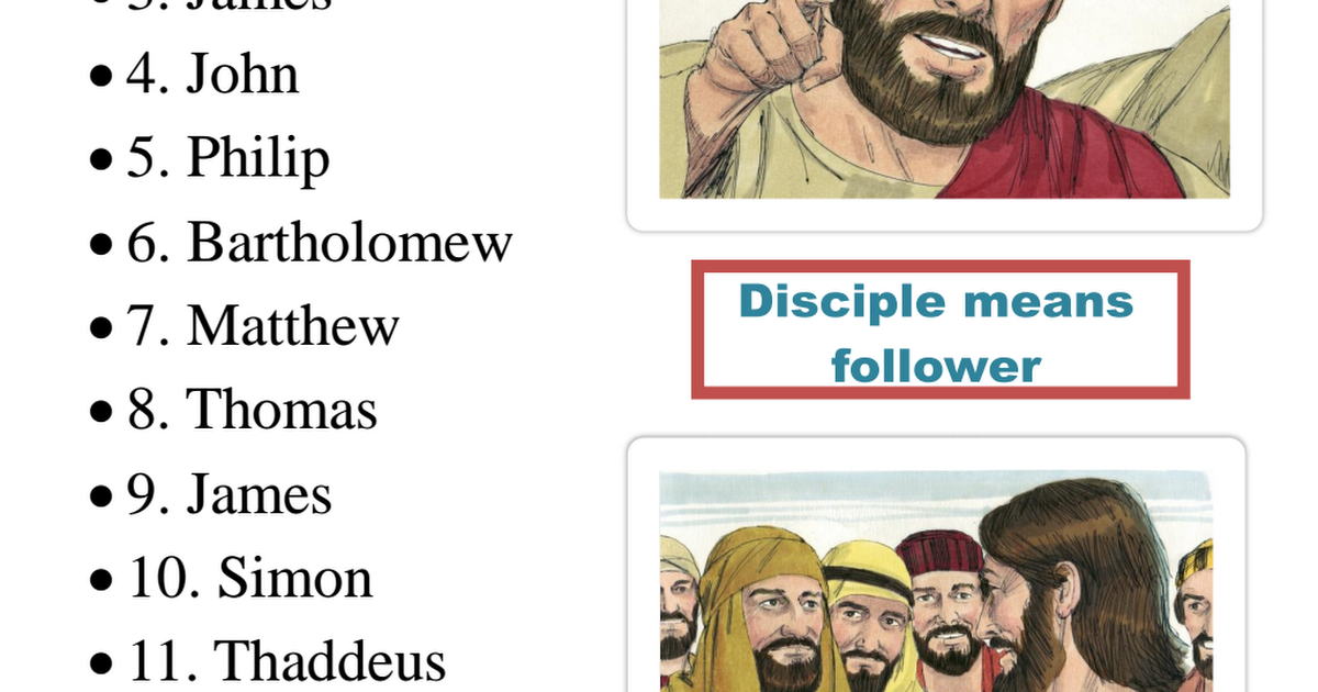 The 12 Disciples lapbook.pdf Școală