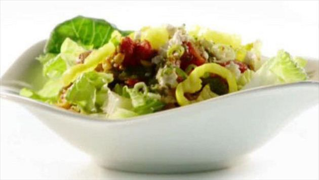 Get meatless taco salad recipe from food network salads get meatless taco salad recipe from food network forumfinder Image collections