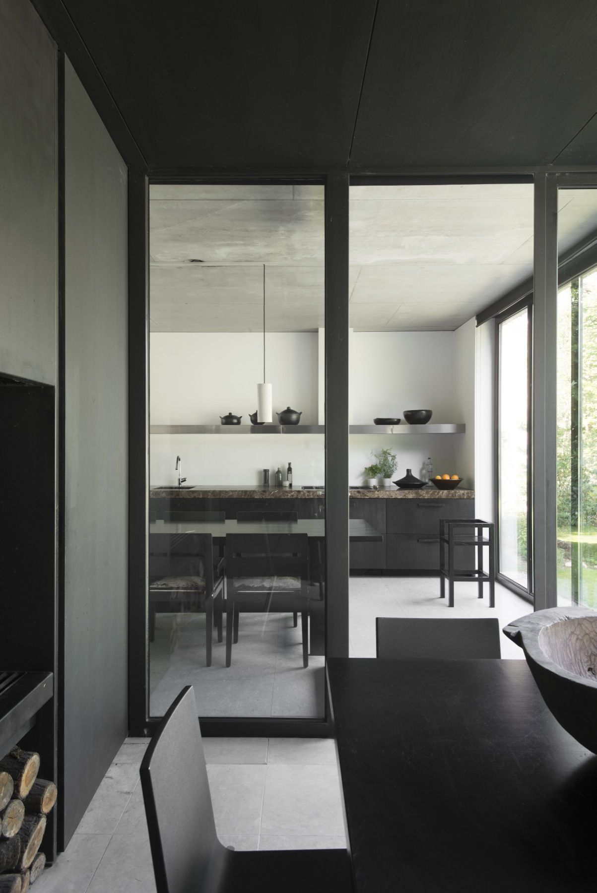 Best Hans Verstuyft Architecten Haus Zimmer Esszimmer 400 x 300