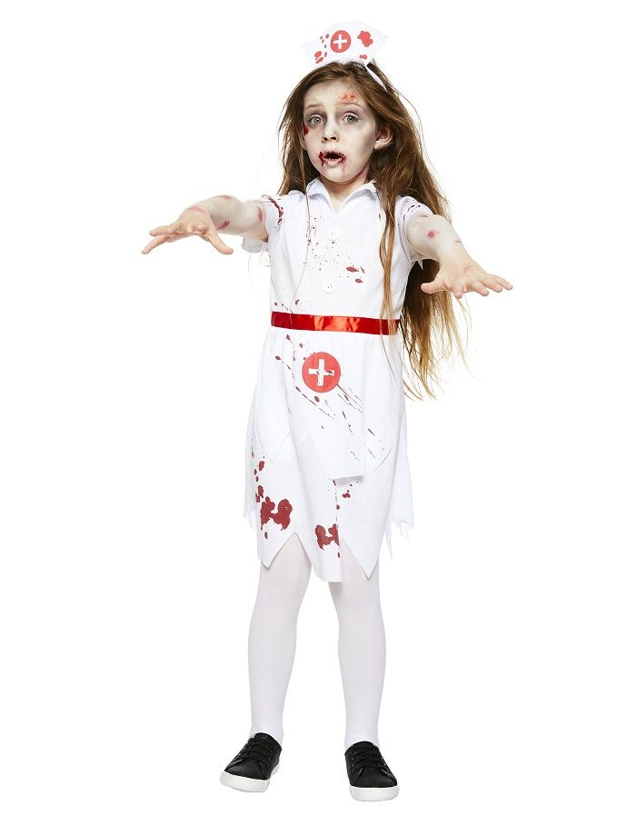 Zombies are a classic kids halloween costume and this great value zombies are a classic kids halloween costume and this great value zombie nurse costume comes solutioingenieria Image collections