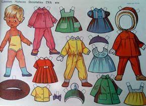 eva editorial vasco americana mariquitas muñeca muñecas recortables