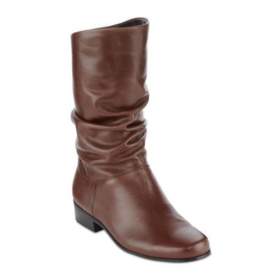 a76aebb03b2f4 St. John s Bay® Jamie Leather Fashion Boot - JCPenney