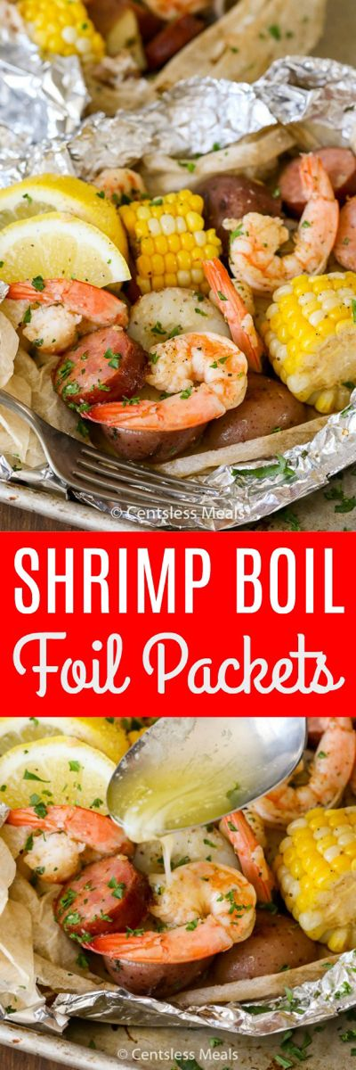 Photo of Shrimp Boil Foil Packets