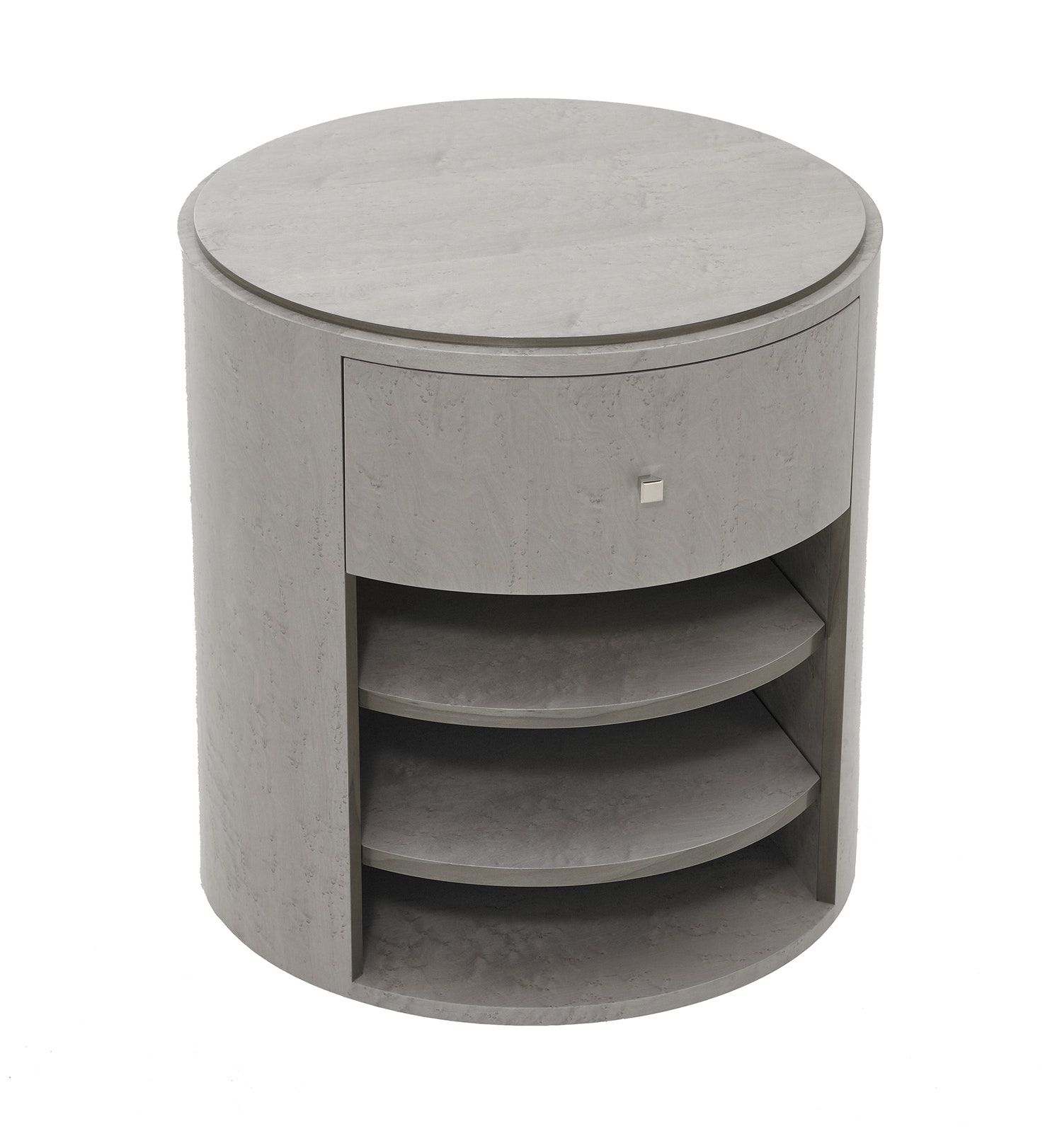 Buy Arc Bedside Cabinet By Black And Key  Made To Order